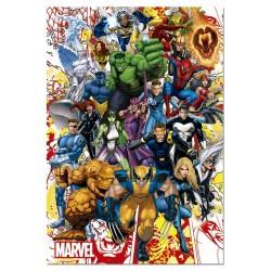 Educa 15560_  Heroes de Marvel_ Puzzle 500 piezas.
