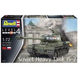 REVELL_ SOVIET HEAVY TANK IS-2_ 1/72