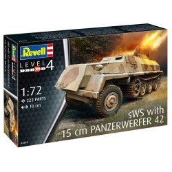 REVELL_ SWS WITH 15cm PANZERWERFER 42_ 1/72