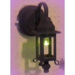 FAROL EXTERIOR DORADO LED