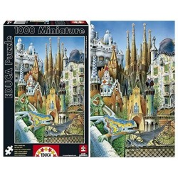 EDUCA PUZZLE MINIATURE_  COLLAGE GAUDI. 1000 piezas