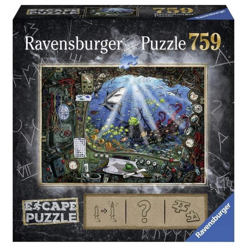 RAVENSBURGER_ SCAPE EL TEMPLO. 759 PZAS