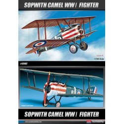 ACADEMY_ SPAD XIII WWI FIGHTER_ 1/72