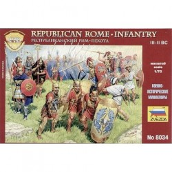 ZVEZDA_ ROMAN IMPERIAL INFANTRY (I.BC- II A.D.)_ 1/72