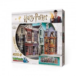 WREBBIT_ EL CALLEJON DIAGON. HARRY POTTER. PUZZLE 3D