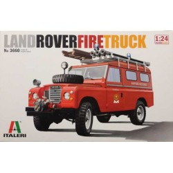 ITALERI_ LAND ROVER FIRE TRUCK_ 1/24