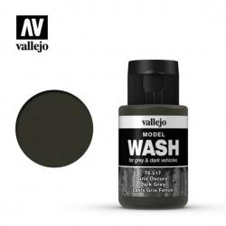 Vallejo Model Wash_ Gris Oscuro 35ml.