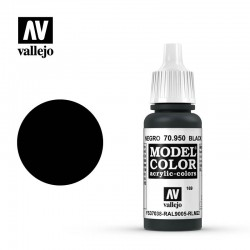 Vallejo Model Color_ Negro (169) FS37038 RAL9005 RLM22