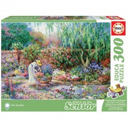 Educa 17981_ Senior Senior XXL_Her Garden . Puzzle de 300 piezas