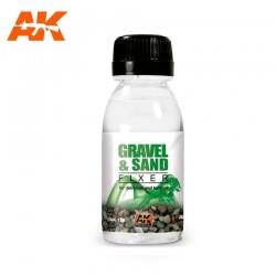 AK_ GRAVEL AND SAND(GRAVA Y ARENA) FIXER 100ml.