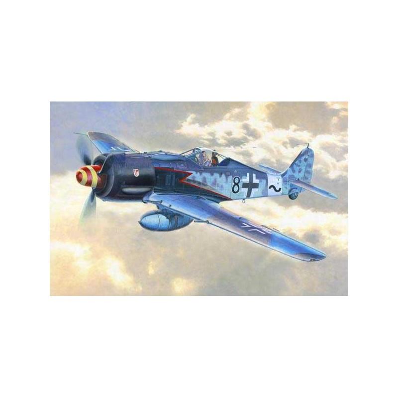 ICM_ BF 109F-4Z /TROP. WWII GERMAN FIGHTER_ 1/48