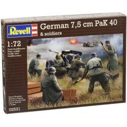 REVELL_ GERMAN 7,5 cm PAK 40_ 1/72