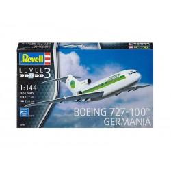 REVELL_ BOEING 727-100 GERMANIA_ 1/144