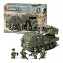 SLUBAN_RADAR TRUCK - ARMY II