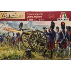 ITALERI_ FRENCH IMPERIAL GUARD ARTILLERY_ 1/72