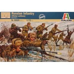 ITALERI_ RUSSIAN INFANTRY IN WINTER UNIFORM_ 1/72