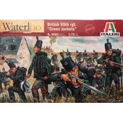 ITALERI_ BRITISH 95th.Rgt. GREEN JACKETS WATERLOO_ 1/72