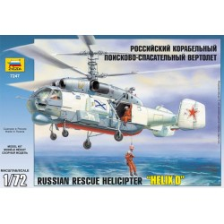 """ZVEZDA_RUSSIAN RESCUE HELICOPTER """"HELIX D""""_1/72"""