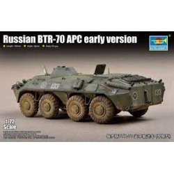 TRUMPETER_ RUSSIAN BTR-70 APC AERLY VERSION _1/72