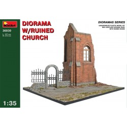 MINIART_ DIORAMA WITH RUINED CHURCH_ 1/35