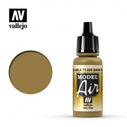 Vallejo Model Air 71025_ Dark Yellow Ral 7028