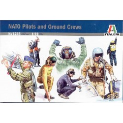 ITALERI_ NATO PILOTS AND GROUND CREW_ 1/72