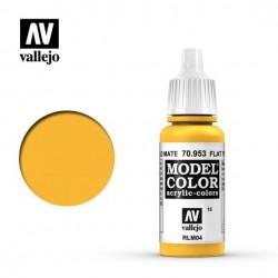 Vallejo Model Color 70953_ Amarillo Mate (015) RLM04