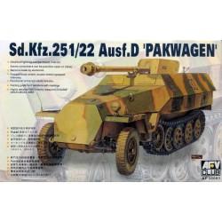 AFV CLUB_M60A3 TTS PATTON MAIN BATTLE TANK_1/35