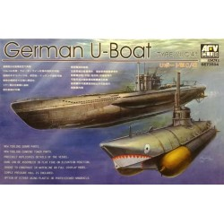 AFV CLUB_ GERMAN U-BOAT TYPE VII C/41_ 1/350