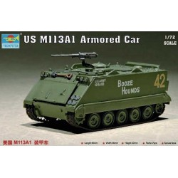 TRUMPETER_ US M113A1 ARMORED CAR 1/72