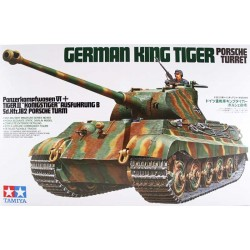 TAMIYA_ GERMAN KING TIGER PORSCHE TURRET_ 1/35
