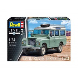 REVELL_ LAND ROVER SERIES III LWB STATION WAGON_ 1/24