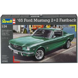 REVELL_ '65 FORD MUSTANG 2+2 FASTBACK_ 1/24