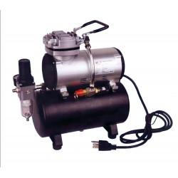Dismoer_ Compresor D-80 con Calderín y Manómetro