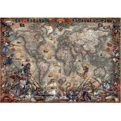 Educa_ Mapa de Piratas_ Puzzle 2000 piezas