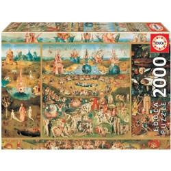 EDUCA_ EL JARDIN DE LAS DELICIAS_ PUZZLE 2000 piezas