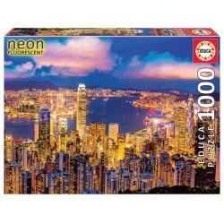 EDUCA_  HONG KONG NEON PUZZLE 1000 Pzas