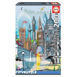 EDUCA_  BERLIN CITY PUZZLE 200 Pzas