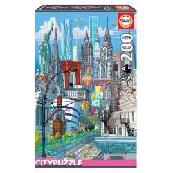 EDUCA_  NEW YORK CITY PUZZLE 200 Pzas