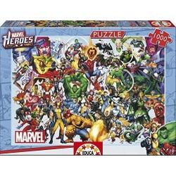 Educa_ Los Héroes de Marvel. Puzzle 1000pcs.ERS. PUZZLE 1000pcs.