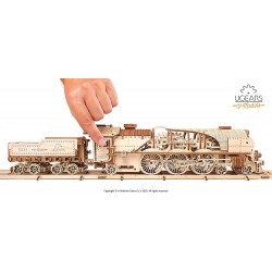 UGEARS_  V-EXPRESS STEAM TRAIN WITH TENDER