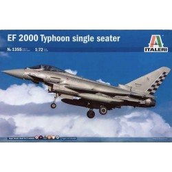 ITALERI_ EF 2000 TYPHOON SINGLE SEATER (con calcas españolas)_ 1/72
