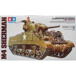 TAMIYA_ M4 SHERMAN US MEDIUM TANK (EARLY PRODUCTION)_ 1/35