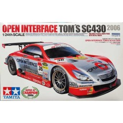 TAMIYA_ OPEN INTERFACE TOM'S SC430 '2006_ 1/24