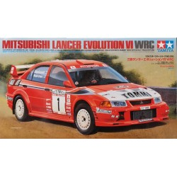 TAMIYA_ MITSUBISHI LANCER EVOLUTION VI WRC_ 1/24