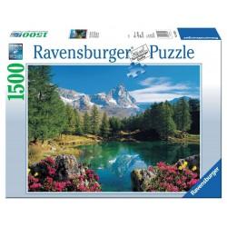 RAVENSBURGER_ MATTERHORN, BEEGSEE_ PUZZLE 1500 PZAS