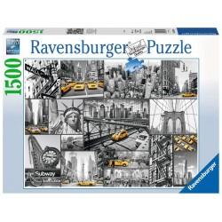 RAVENSBURGER_ NOTA DE COLOR EN NY_ PUZZLE 1500 PZAS