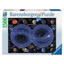 RAVENSBURGER_ ASTRONOMÍA_ PUZZLE 1500 PZAS