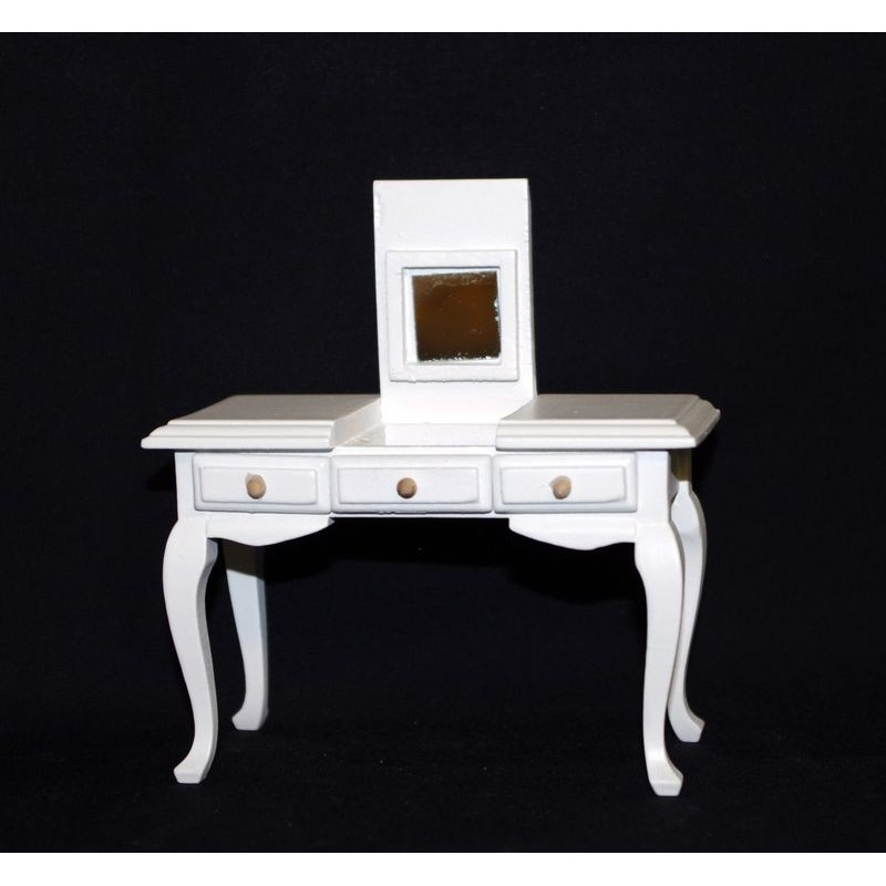 VM_ WHITE COLORED TOILET WITH FOLDING MIRROR_ 1/12