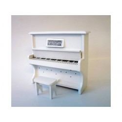 VEGA MINI_ PIANO DE PARED BLANCO CON ASIENTO_ 1/12